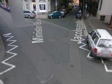 Kreuzungsbereich Jacobsstraße / Minister-Stüve-Straße