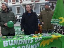 Equal Pay Day 2017-03-18: Eike Lengemann (m.), Richard Heise (l.), Martin Zierke (r.)